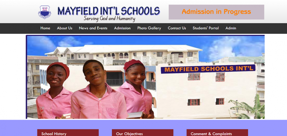 Mayfield International Schools Website