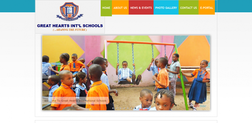 Great Heart Int'l School Website